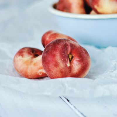 donut peach tree fruit